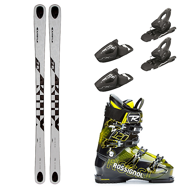 Kastle BMX 78, Tyrolia SX 10, and Rossignol Alias Sensor 120 Ski Package, , 600