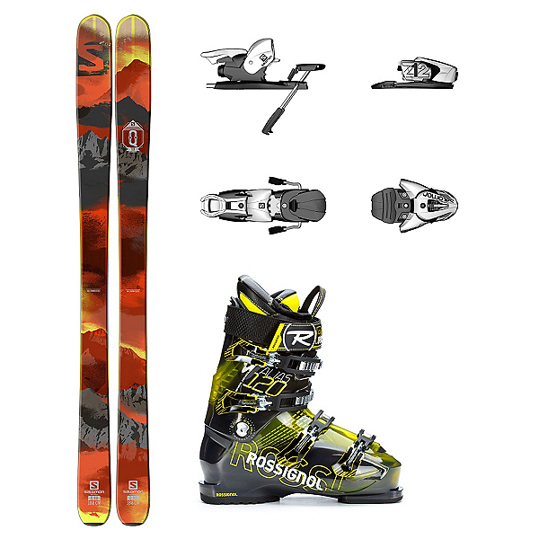 Salomon Q-98 Alias Sensor 120 Ski Package, , 600