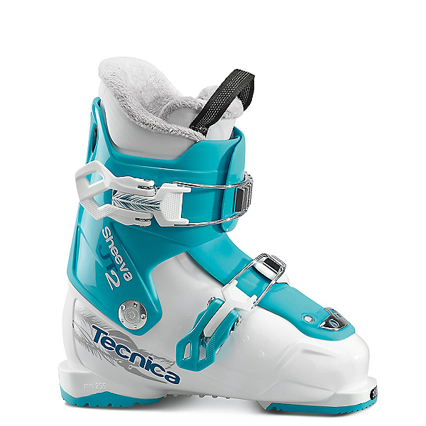 Tecnica JT 2 Sheeva Girls Ski Boots 2018, Bianco-Blue Bird, 600