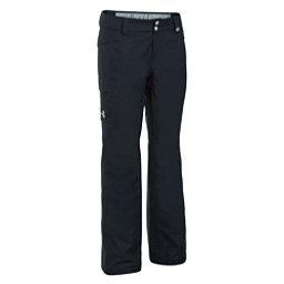 Under Armour ColdGear Infrared Chutes Womens Ski Pants, Black-Glacier Gray, 256