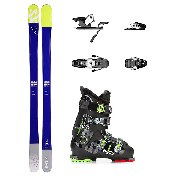 Volkl Alley Jakk Ski Package, , 600