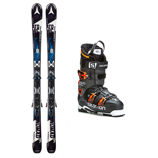 Atomic Nomad Blackeye TI Quest Pro 90 Ski Package, , 600