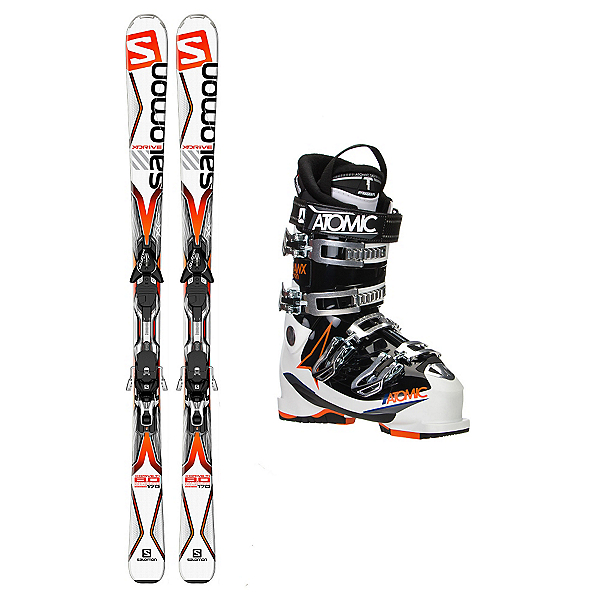 Salomon X-Drive 8.0 TI Hawx 2.0 90 Ski Package, , 600