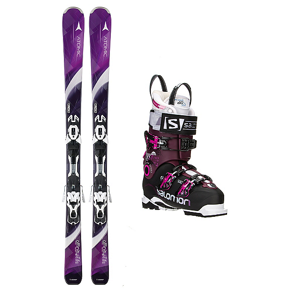 Atomic Affinity Sky Quest Pro 100 Womens Ski Package, , 600