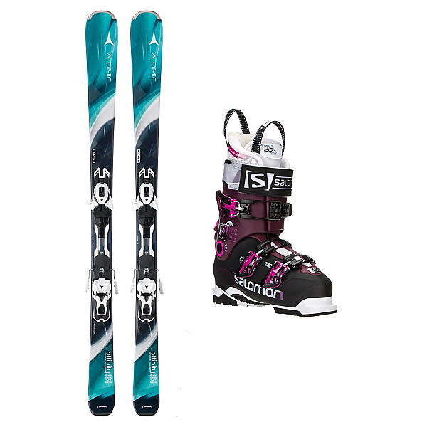 Atomic Affinity Storm Quest Pro 100 Womens Ski Package, , 600