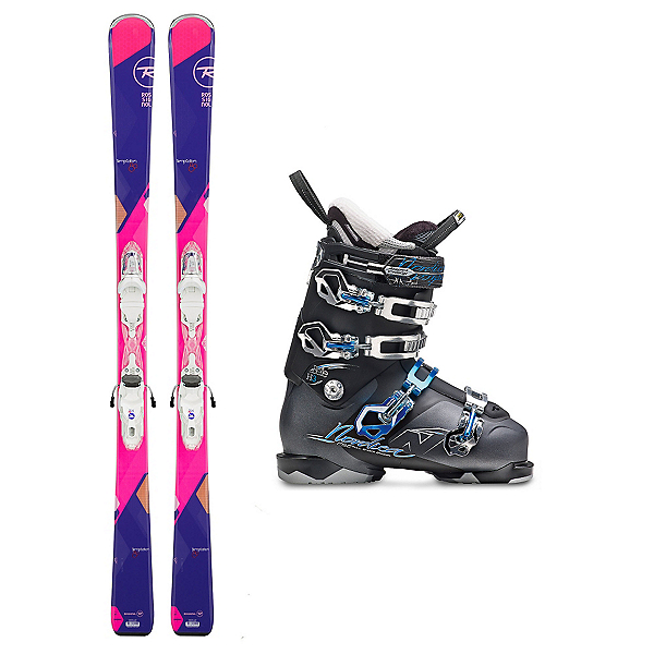 Rossignol Temptation 80 Belle H3 W Womens Ski Package, , 600