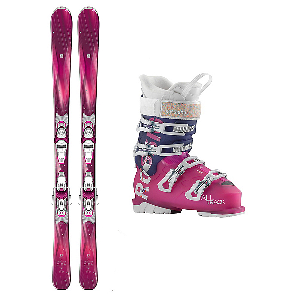 Salomon Cira AllTrack 70 Womens Ski Package, , 600