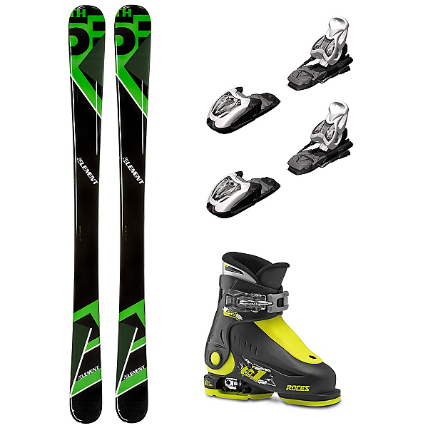 5th Element Green Machine Idea Up Kids Ski Package, , 600