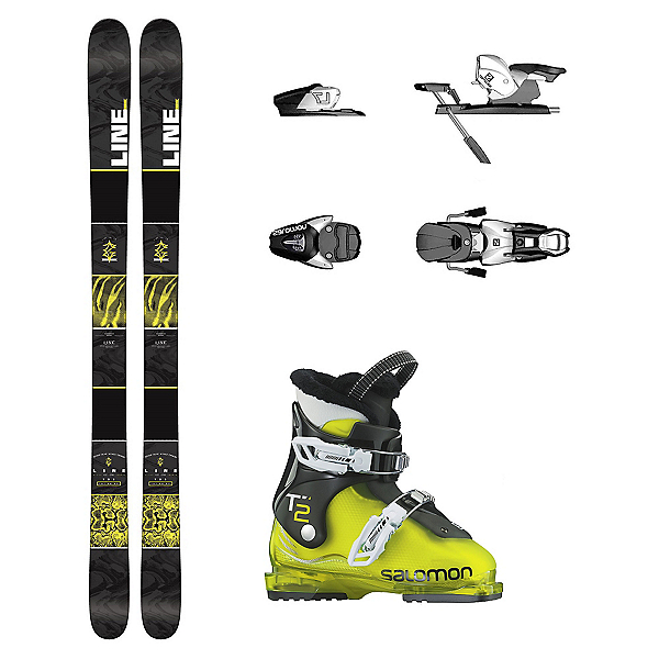 Line Gizmo T2 RT Kids Ski Package, , 600