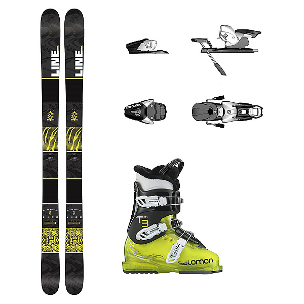 Line Gizmo T3 RT Kids Ski Package, , 600