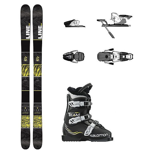 Line Gizmo Team T3 Kids Ski Package, , 600