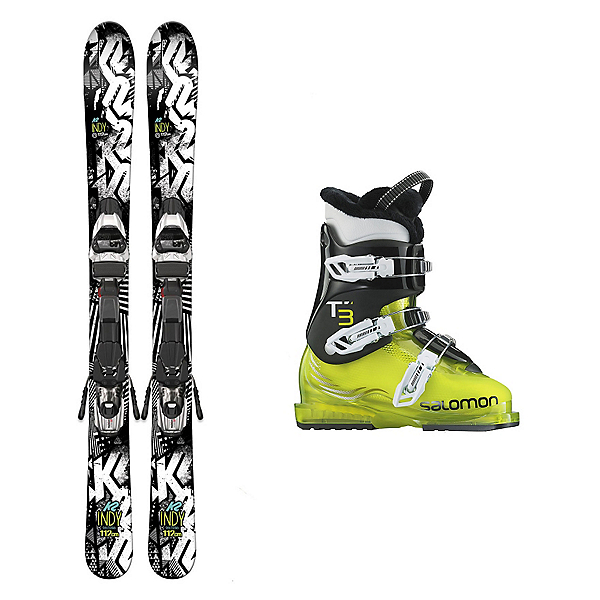 K2 Indy T3 RT Kids Ski Package 2017, , 600