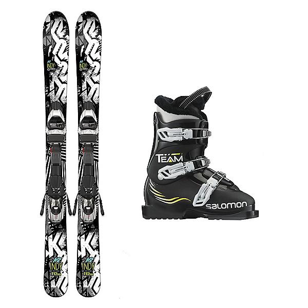 K2 Indy Team T3 Kids Ski Package 2017, , 600