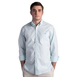 Fish Hippie Helton Gingham Slim Fit Mens Shirt, , 256
