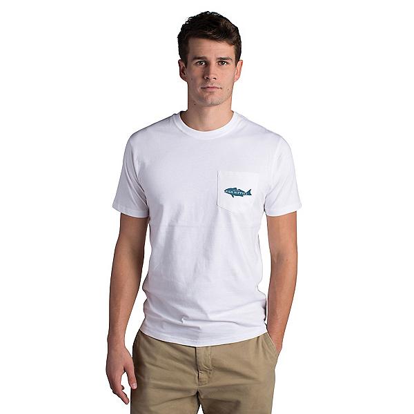 Fish Hippie Backwater Red Pocket Mens T-Shirt, , 600