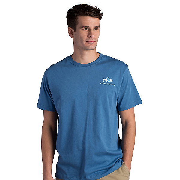 Fish Hippie Original Tarpon Mens T-Shirt, , 600