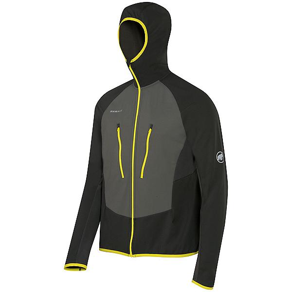 Mammut Aenergy Light ML Hooded Jacket Mens Mid Layer, Graphite-Titanium, 600