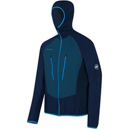 Mammut Aenergy Light ML Hooded Jacket Mens Mid Layer, Marine-Orion, 256