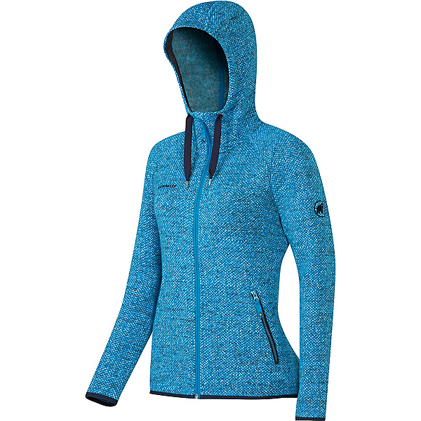 Mammut Kira Tour ML Hooded Womens Jacket, Atlantic, 600
