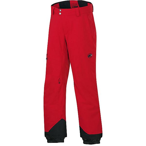 Mammut Bormio HS Mens Ski Pants, Lava, 600