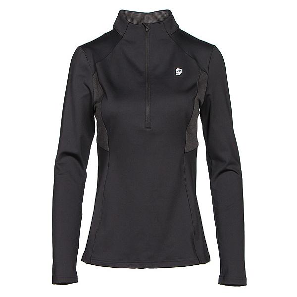 Orage Cozy Womens Long Underwear Top, Black, 600