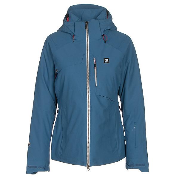 Orage Grace Womens Insulated Ski Jacket, Denim, 600