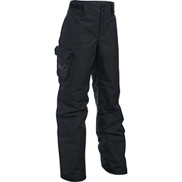 Under Armour ColdGear Infrared Chutes Kids Ski Pants, Black-Black-Graphite, 256