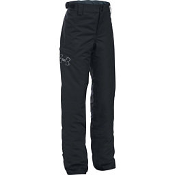 Under Armour ColdGear Infrared Chutes Girls Ski Pants, Black-Glacier Gray, 256