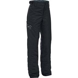 Under Armour ColdGear Infrared Chutes Girls Ski Pants, Black-Glacier Gray, 256