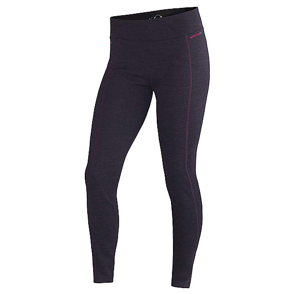 Terramar Thermawool Womens Long Underwear Pants, Purple Heather, 600