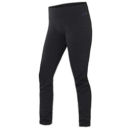 Terramar Thermawool Womens Long Underwear Pants, Black Heather, 256