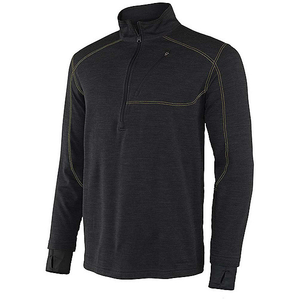 Terramar Thermawool Half-Zip Mens Long Underwear Top, , 600