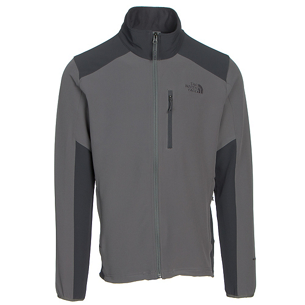 The North Face Apex Pneumatic Mens Soft Shell Jacket (Previous Season), Fusebox Grey-Asphalt Grey, 600