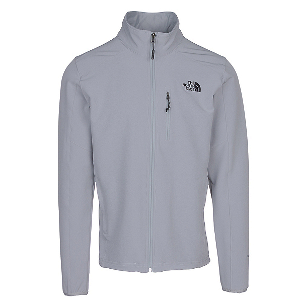 The North Face Apex Pneumatic Mens Soft Shell Jacket, Monument Grey-Monument Grey, 600