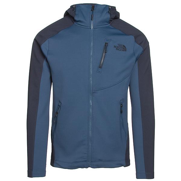 The North Face Tenacious Hybrid Hoodie Mens Jacket, Shady Blue-Urban Navy, 600