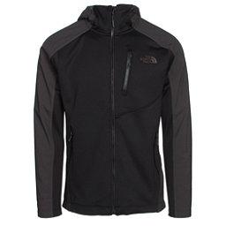 The North Face Tenacious Hybrid Hoodie Mens Jacket (Previous Season), TNF Black-Asphalt Grey, 256