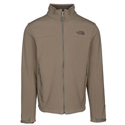 The North Face Apex Chromium Thermal Mens Soft Shell Jacket, Burnt Olive Green-Burnt Olive, 256