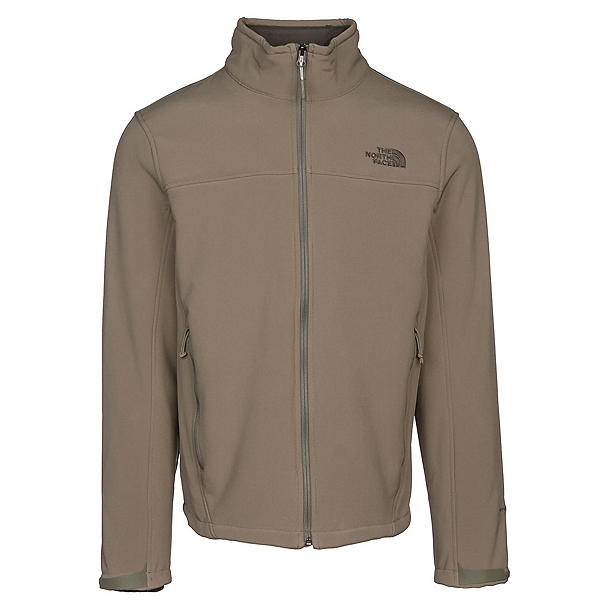 The North Face Apex Chromium Thermal Mens Soft Shell Jacket, Burnt Olive Green-Burnt Olive, 600
