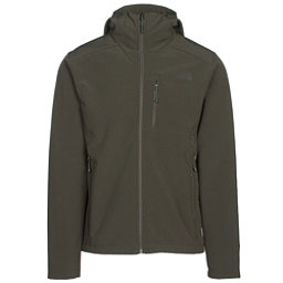 The North Face Apex Bionic 2 Hooded Mens Soft Shell Jacket (Previous Season), Rosin Green-Rosin Green, 256