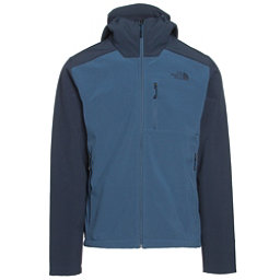 The North Face Apex Bionic 2 Hooded Mens Soft Shell Jacket (Previous Season), Shady Blue-Urban Navy, 256