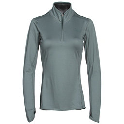 The North Face Motivation 1/4 Zip Womens Shirt (Previous Season), Balsam Green, 256