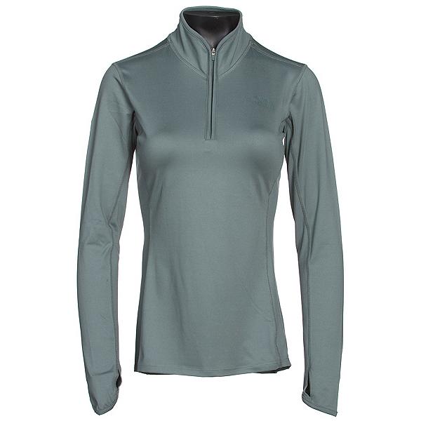 The North Face Motivation 1/4 Zip Womens Shirt (Previous Season), Balsam Green, 600