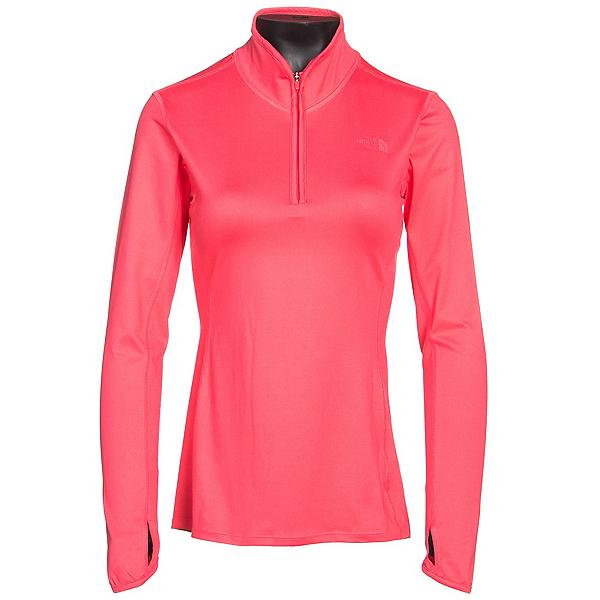 The North Face Motivation 1/4 Zip Womens Shirt (Previous Season), Calypso Coral, 600