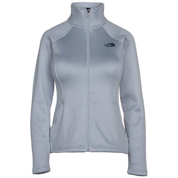 The North Face Agave Full Zip Womens Jacket (Previous Season), Arctic Ice Blue Heather, 600