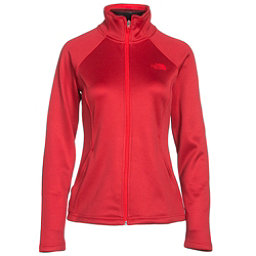 The North Face Agave Full Zip Womens Jacket (Previous Season), High Risk Red Heather, 256