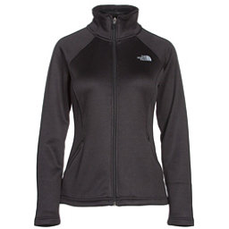 The North Face Agave Full Zip Womens Jacket (Previous Season), TNF Black Heather, 256