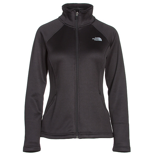 The North Face Agave Full Zip Womens Jacket (Previous Season), TNF Black Heather, 600