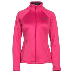 The North Face Agave Full Zip Womens Jacket (Previous Season), Cerise Pink Heather, 256