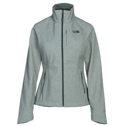 The North Face Apex Bionic 2 Womens Soft Shell Jacket (Previous Season), Balsam Green Heather, 256