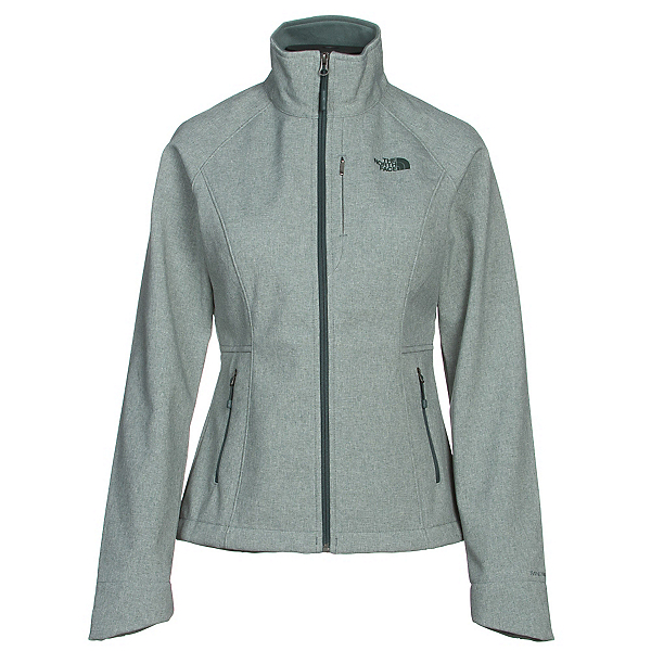 The North Face Apex Bionic 2 Womens Soft Shell Jacket (Previous Season), Balsam Green Heather, 600